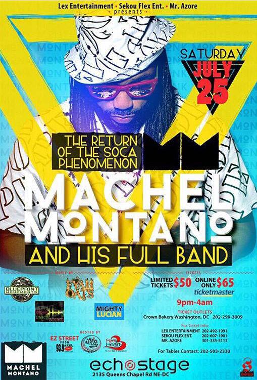 Fetes page 2 machel montano and his full band will be in washington dc tomorrow night yes we said machel will be in dc tomorrow malvernweather Gallery