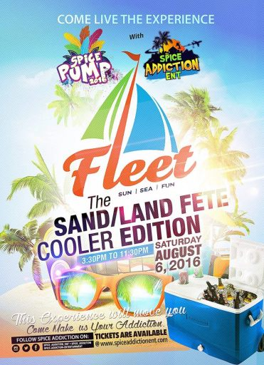 Spice Pump Fleet Cooler Edition Grenada Carnival