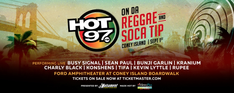 Hot97 On Da Reggae And Soca Tip