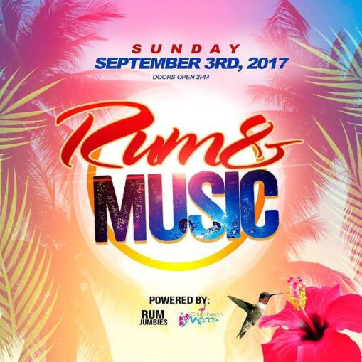 Rum and Music Labor Day Weekend 2017