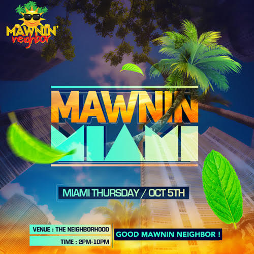 Mawnin Miami 2017