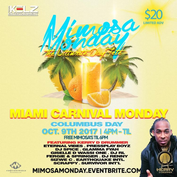 Miami Carnival Mimosa Monday