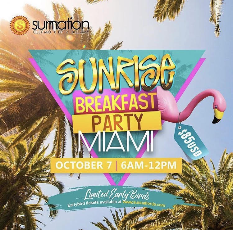 Sunrise Breakfast Party Miami 2017