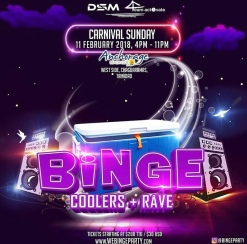 Bing Coolers and Rave Trinidad Carnival 2018