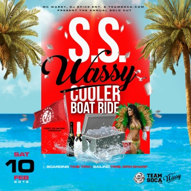 S.S Wassy Cooler Boat Ride 2018
