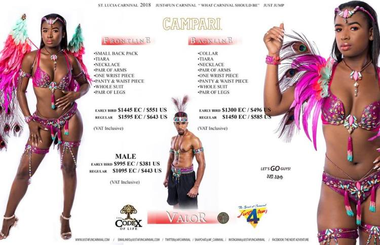 Just4Fun Carnival Band Prices_Valor