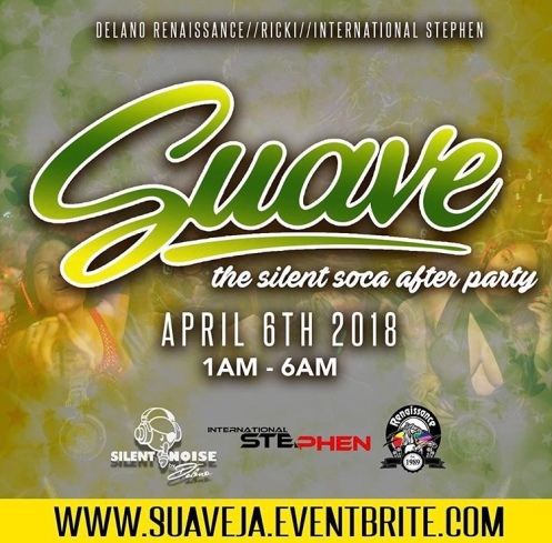 Suave Silent Party Jamaica Carnival 2018