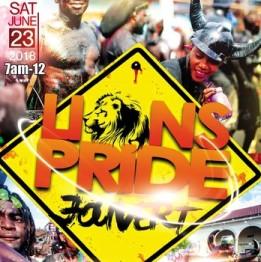 Hookie 2018 Lion's Pride Jouvert