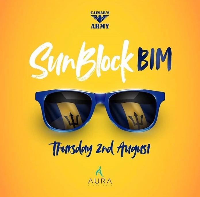 Sunblock BIM - Crop Over 2018