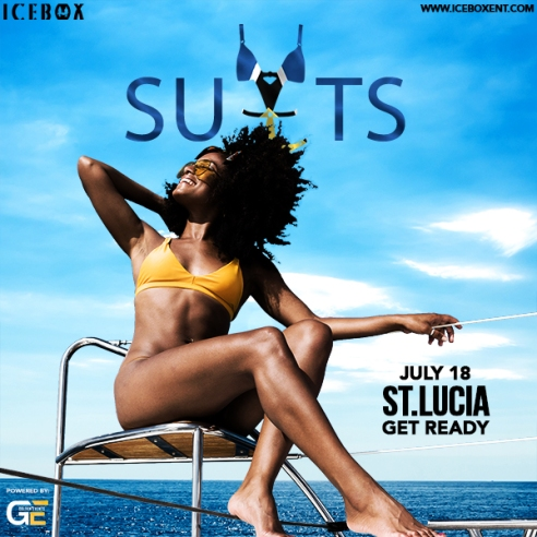 St Lucia Carnival 2018 Suits Cruise